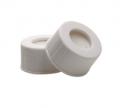 预黏贴,白色开孔盖 PP 螺纹口,本色PTFE/本色硅胶垫